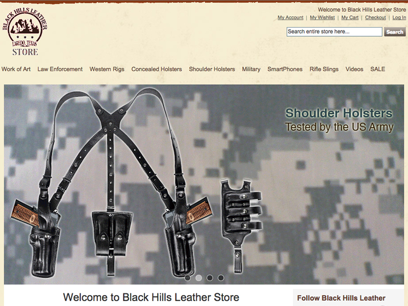 Black Hills Leather Online Store